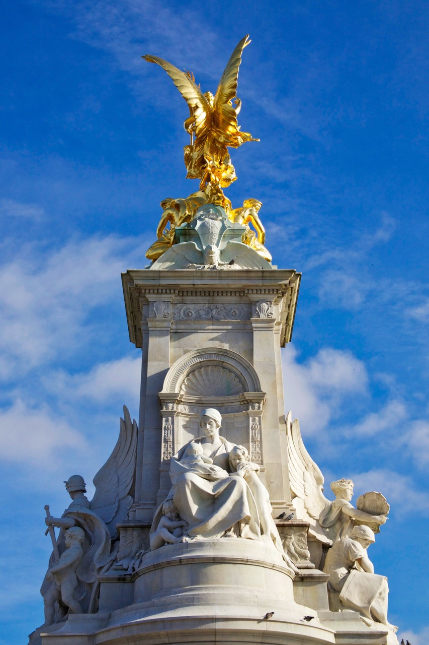 Victoria Memorial at Buckingham Palace in London