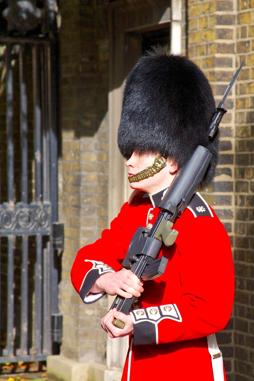 Queen's Guard at Buckingham Palace in London