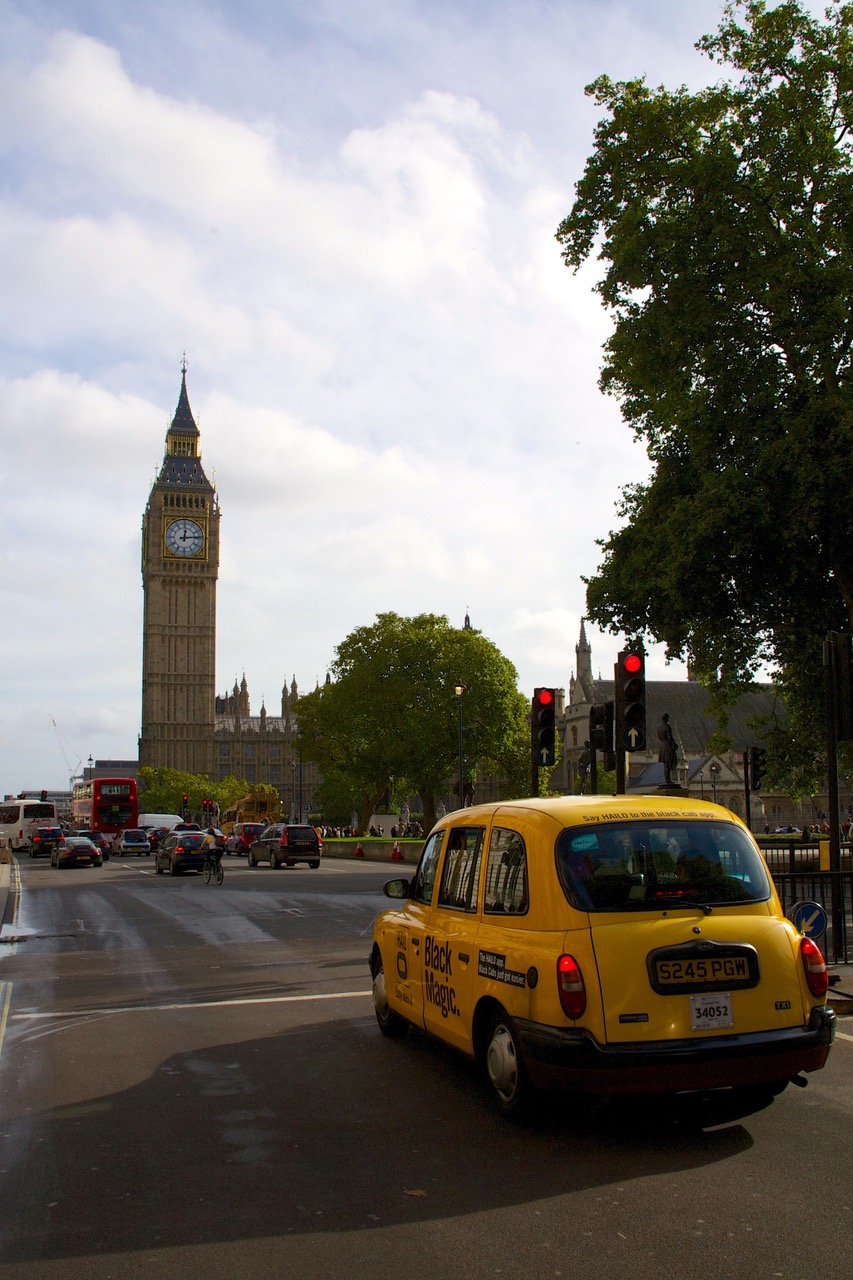 Street view at Parliament Square, London