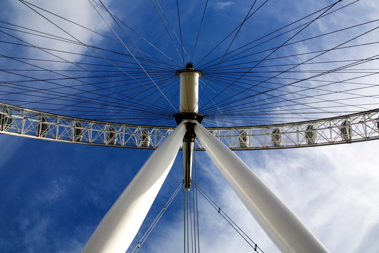 London Eye from a different angle