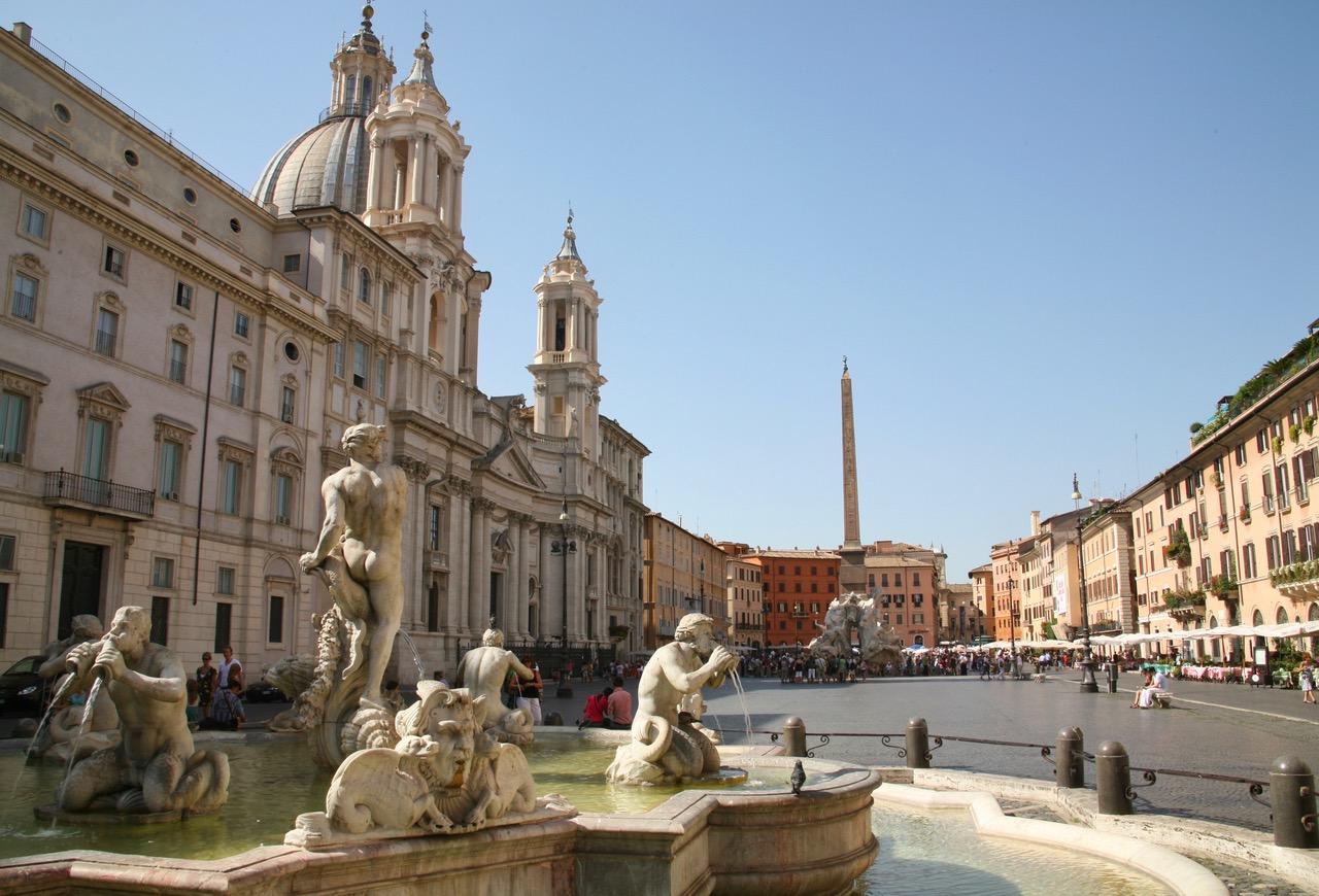 Piazza Navona in Rome