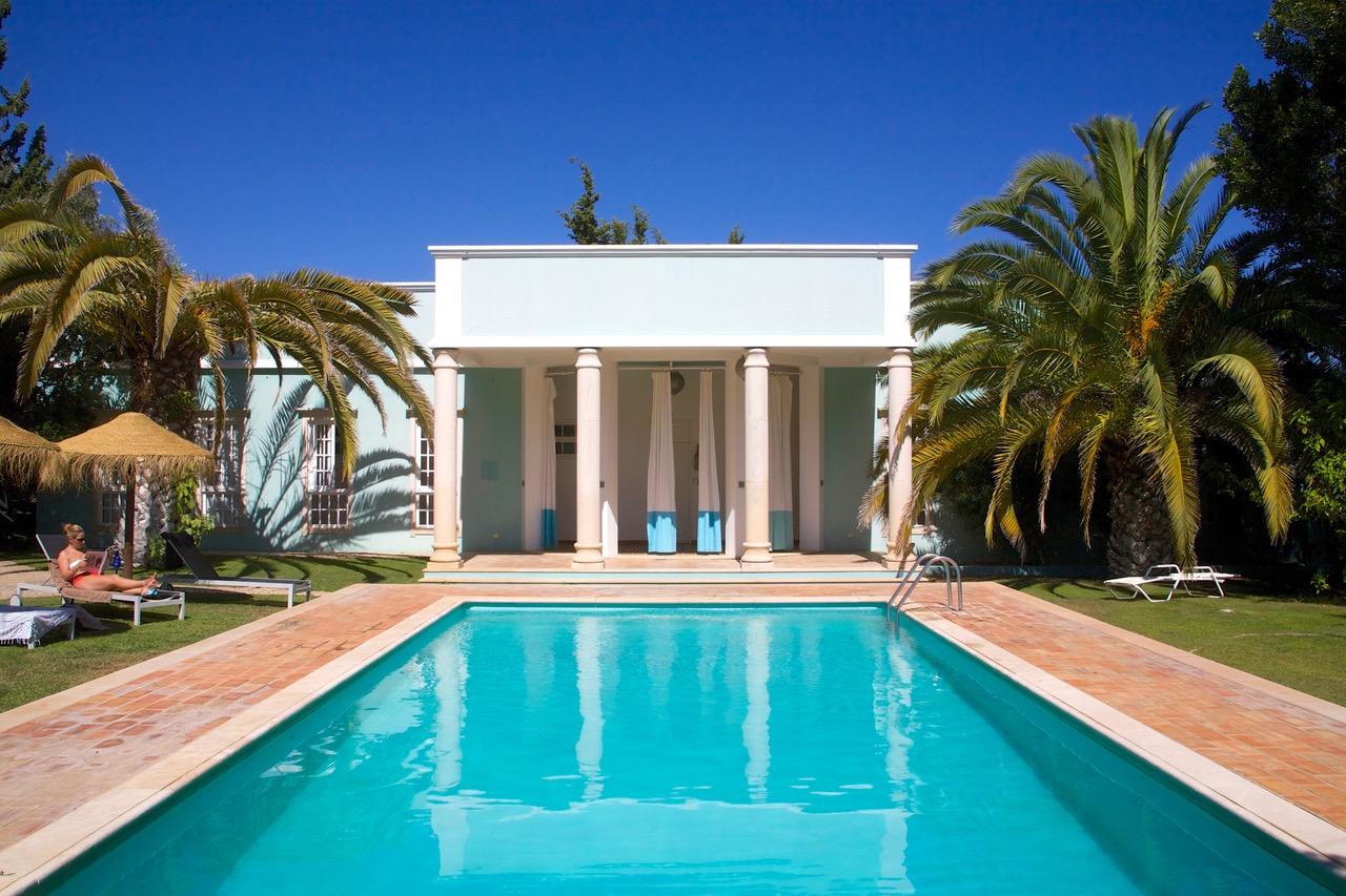 Vila Monte pool Moncarapacho, Portugal