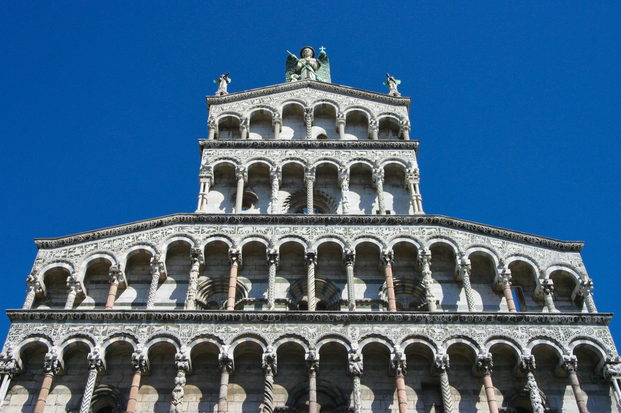 Duomo di Lucca in Lucca, Italy