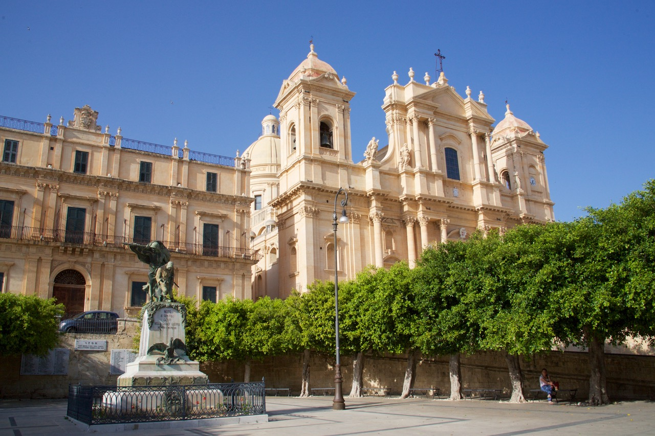 Noto Cathedral in Sicily