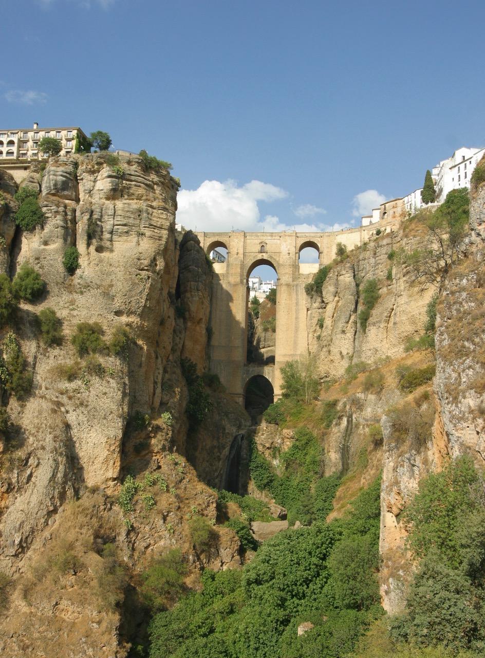 The Puente Nuevo in Ronda