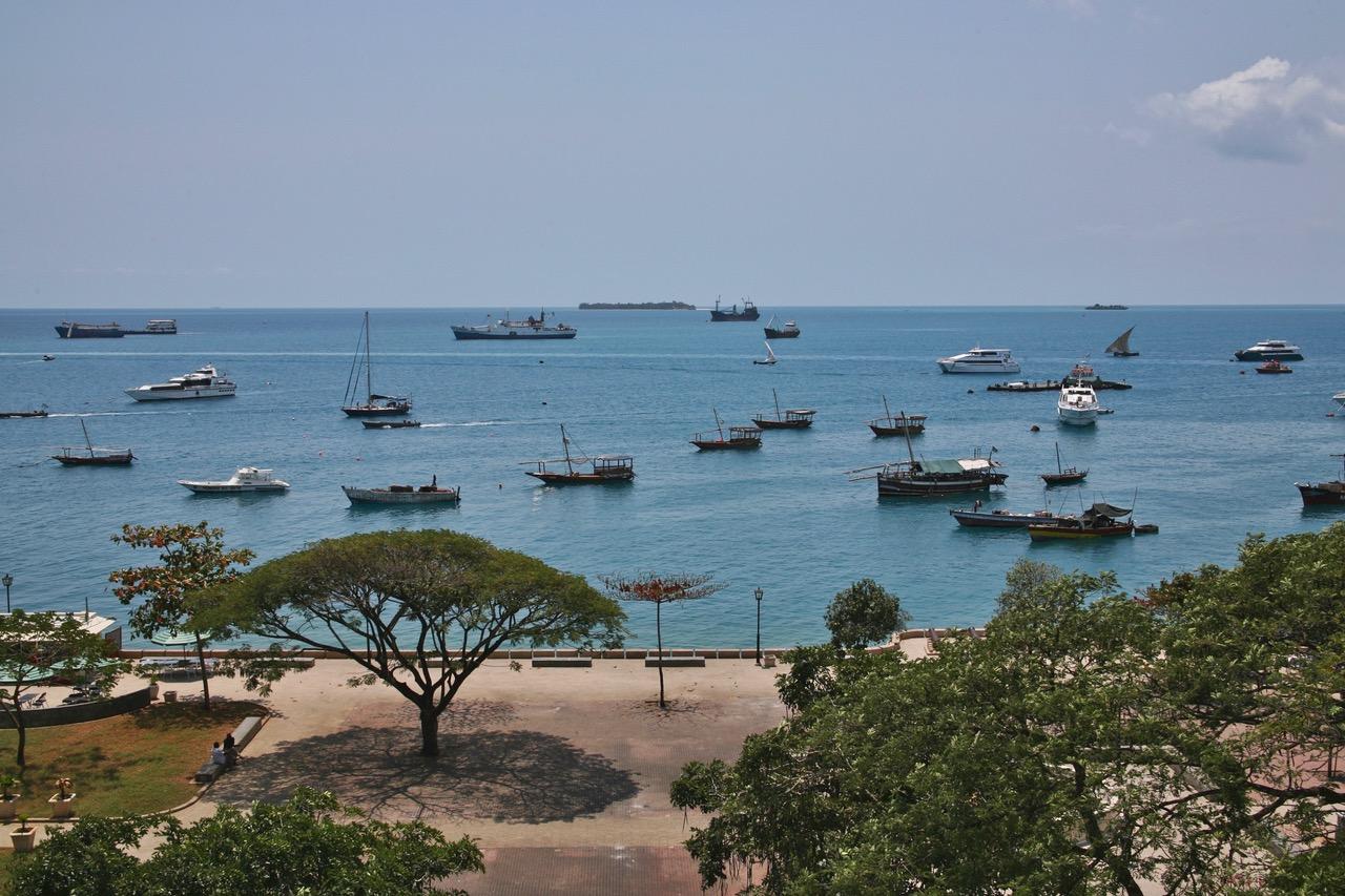 Stone Town harbor, Zanzibar