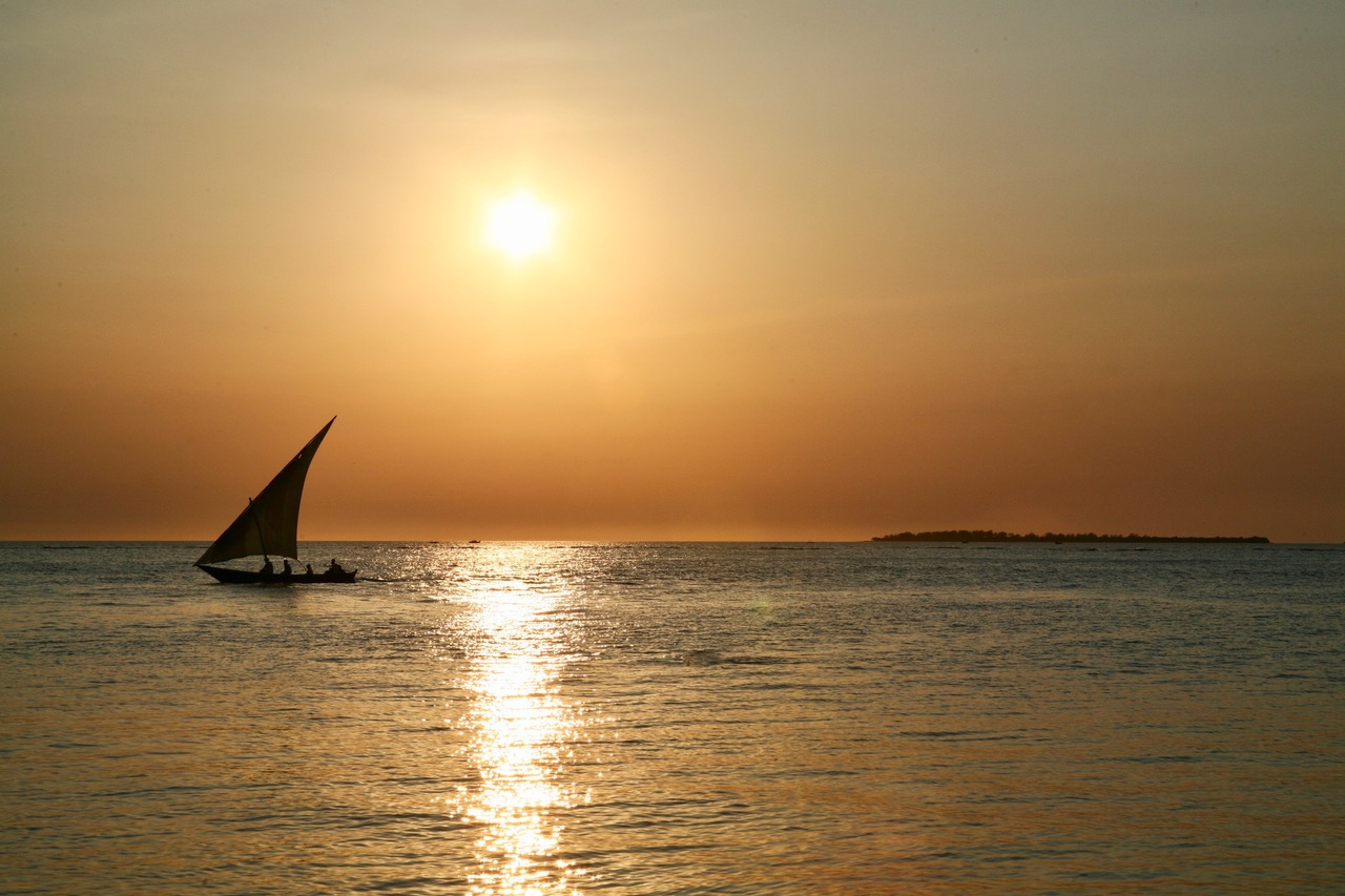 Sunset at Stone Town, Zanzibar
