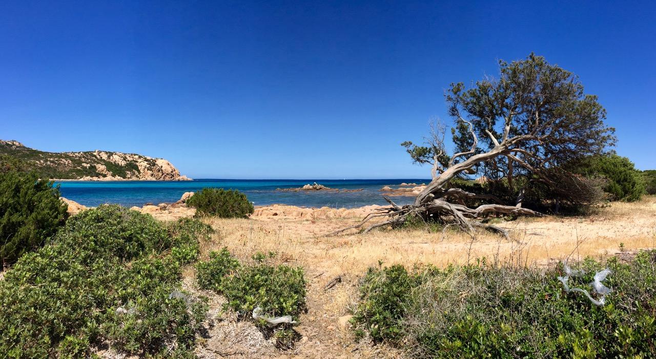 Small beach near Hotel Piccolo Pevero, Sardinia