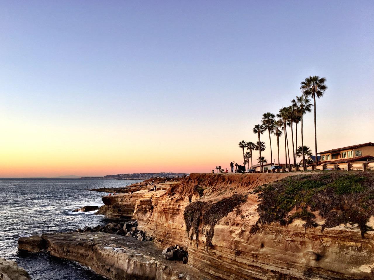 Sunset Cliffs San Diego, USA