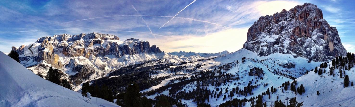 Sella Ronda, Val Gardena, Dolomites, Italy