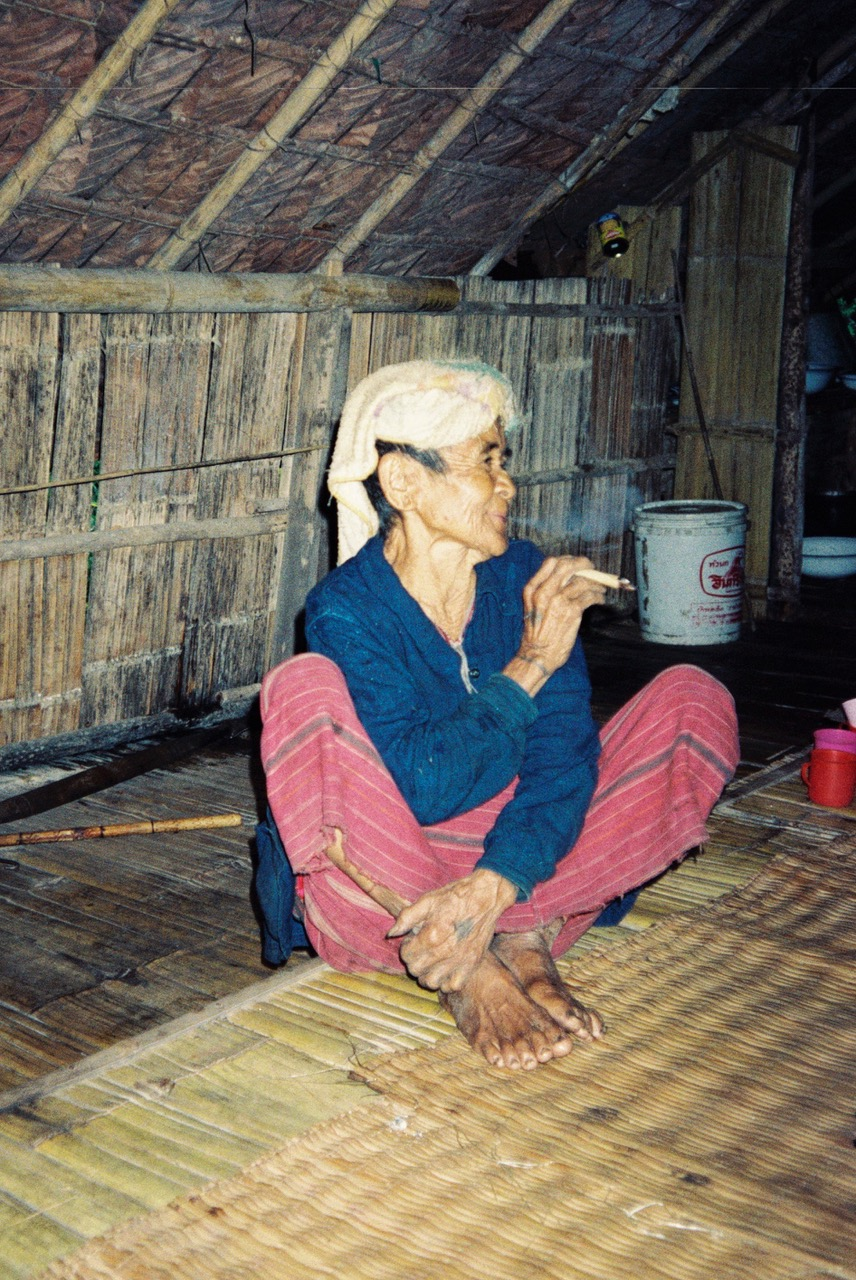 Meo woman with joint