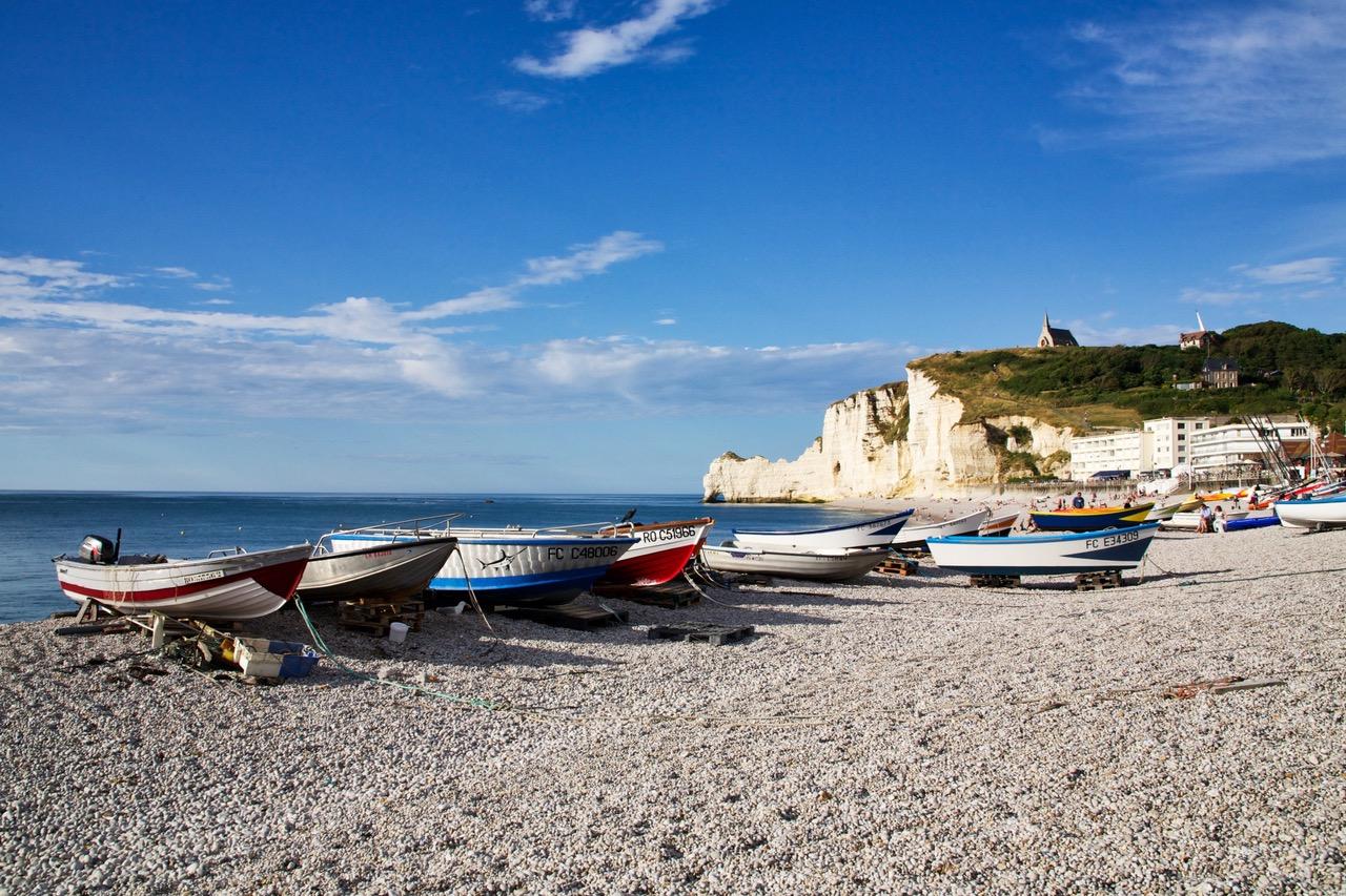 Étratat, France Beaches