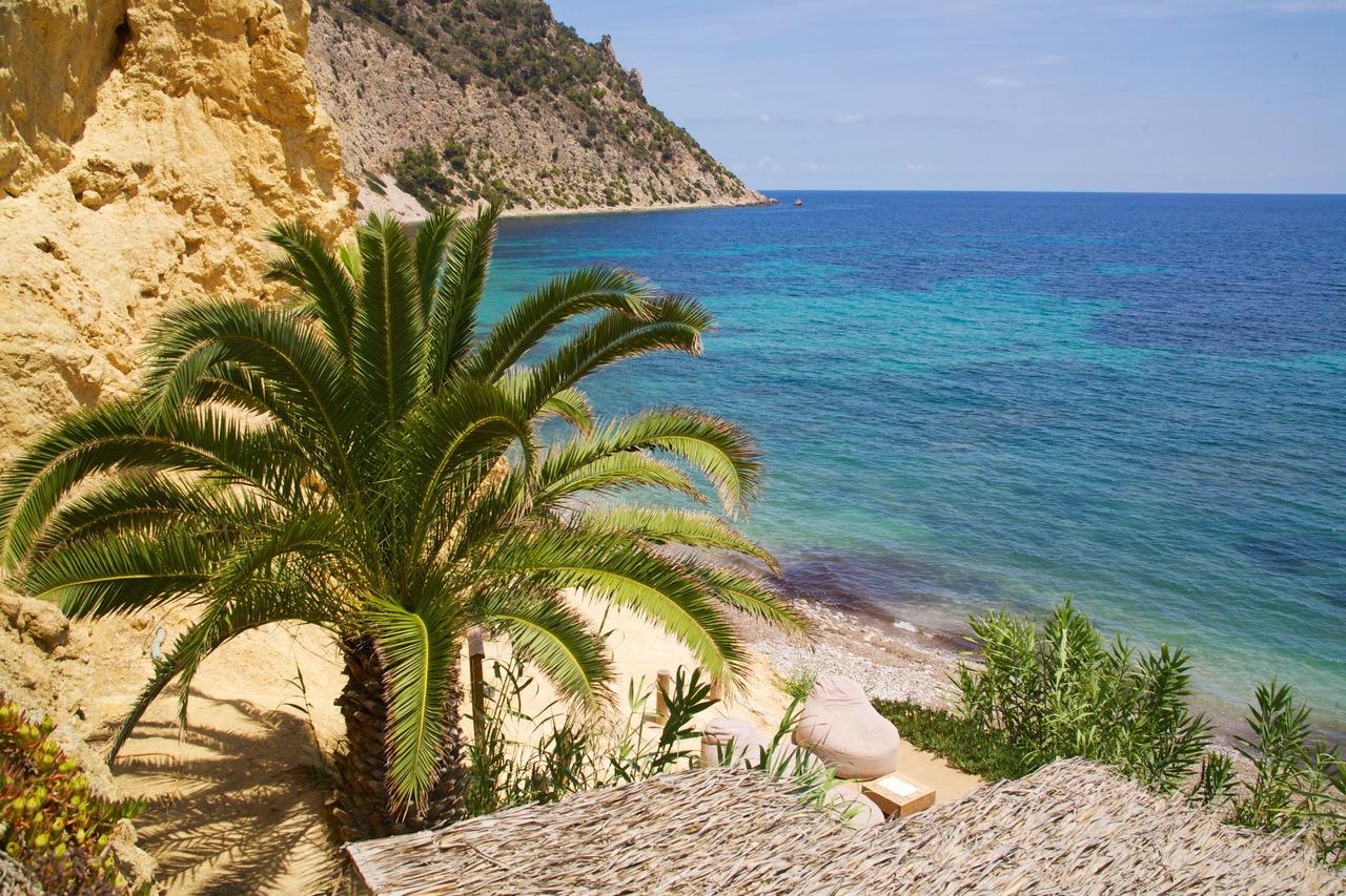 Beach view at Beach Club Amante Ibiza