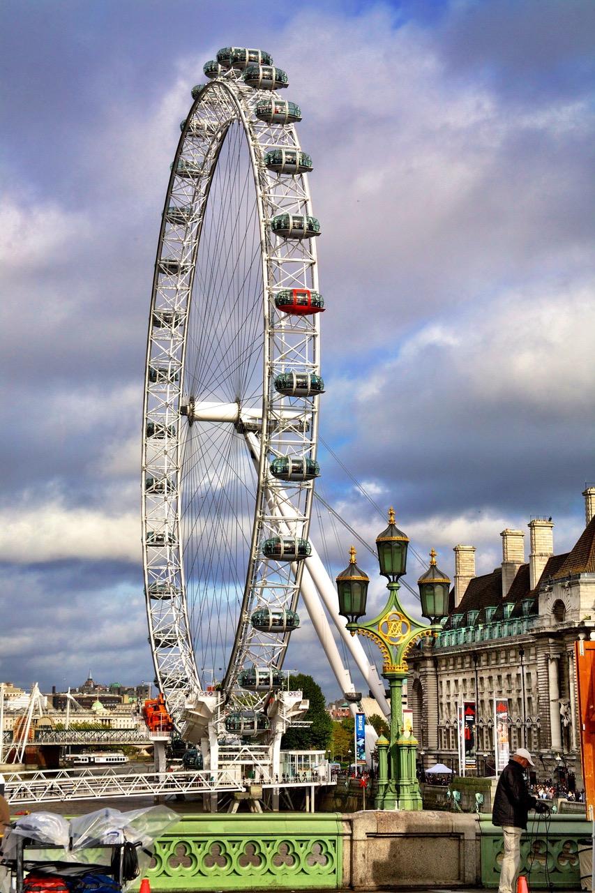 London Eye, Westminster Bridge, London