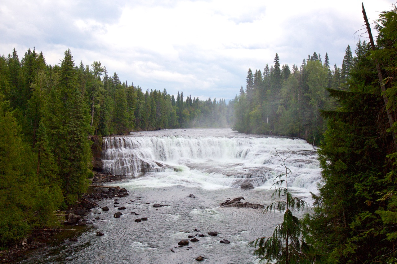 Dawson Falls, Wells Gray Provincial Park, Canada