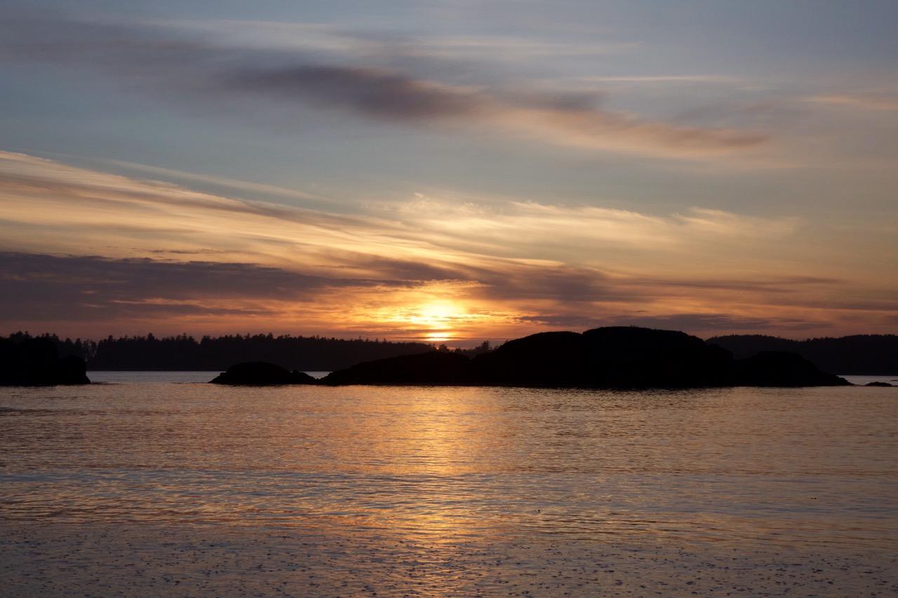 Mackenzie Beach, Sunset, Vancouver Island, Canada