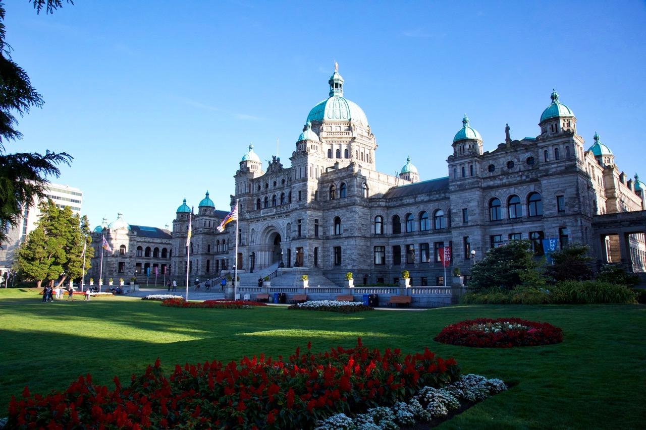 British Colombia Parliament Buildings, Victoria, Vancouver Island, Canada