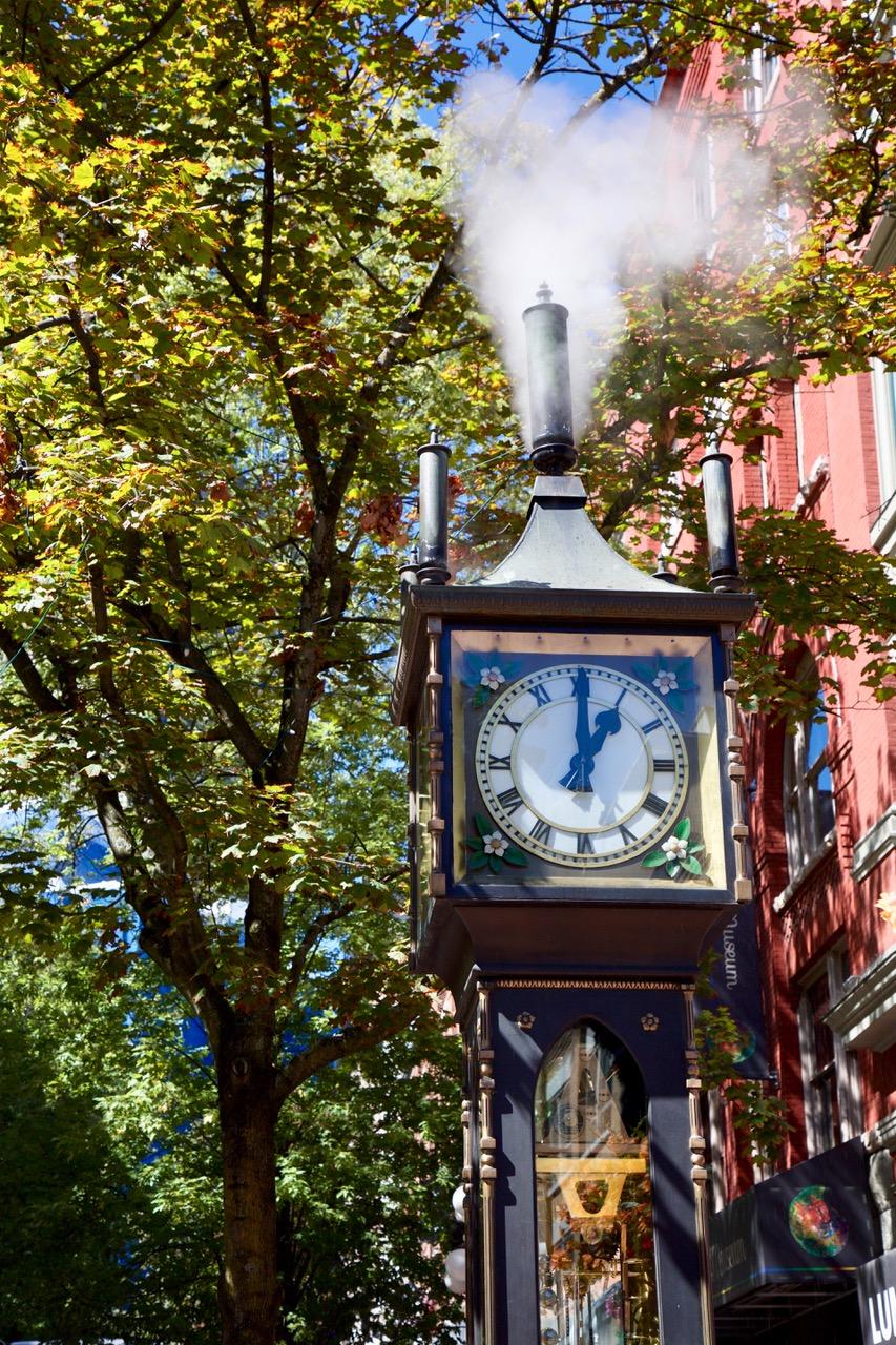 Gastown, Steam Clock, Vancouver