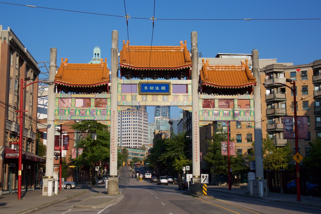 Chinatown Gate, Vancouver, Canada