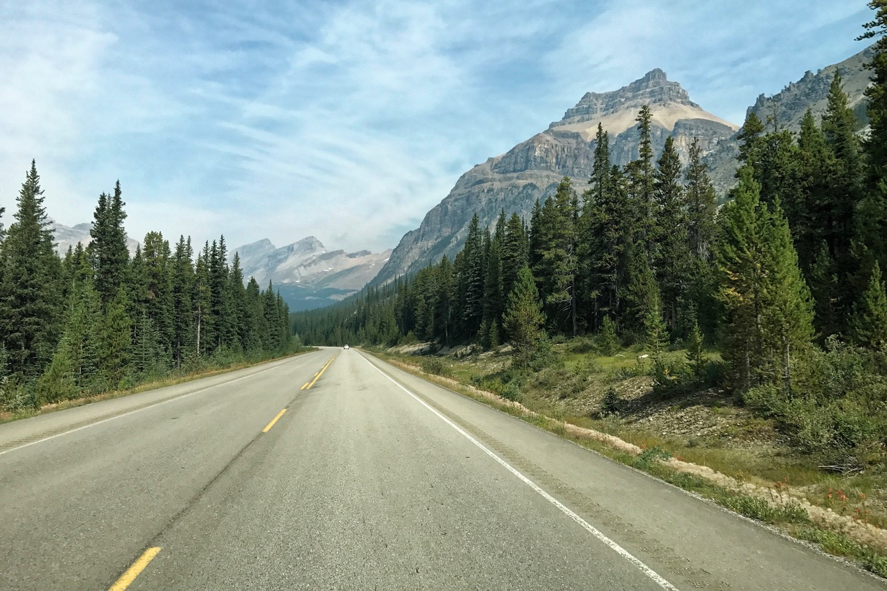 Icefields Parkway, Alberta, Canada