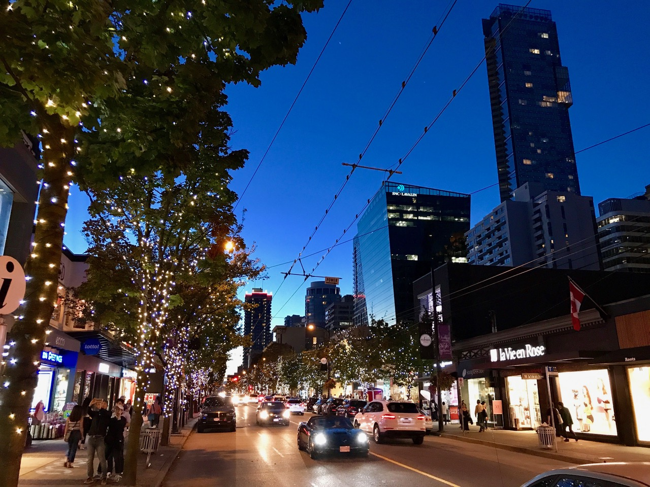 Robson Street, Vancouver, Canada