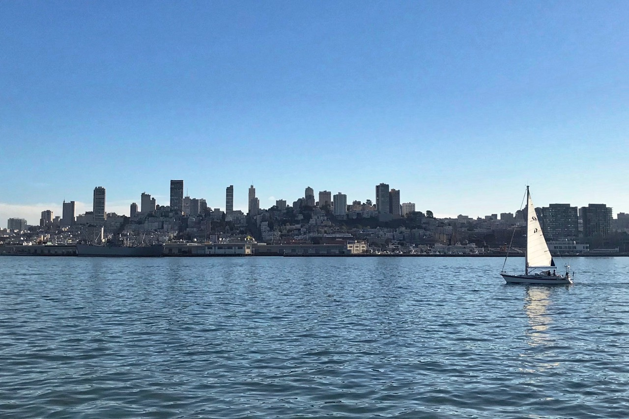 San Francisco, skyline, California, USA