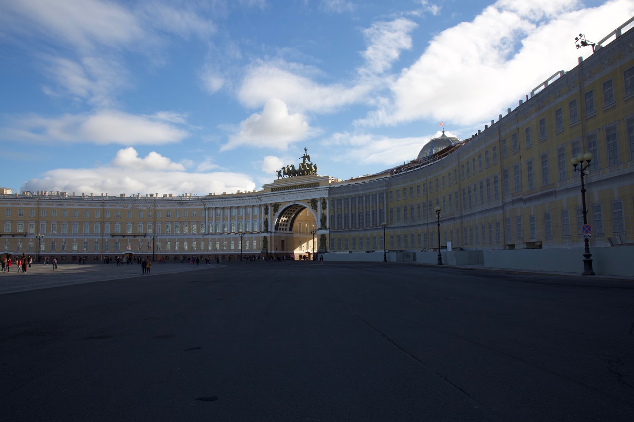 General Staff Building, Palace Square, Saint-Petersburg