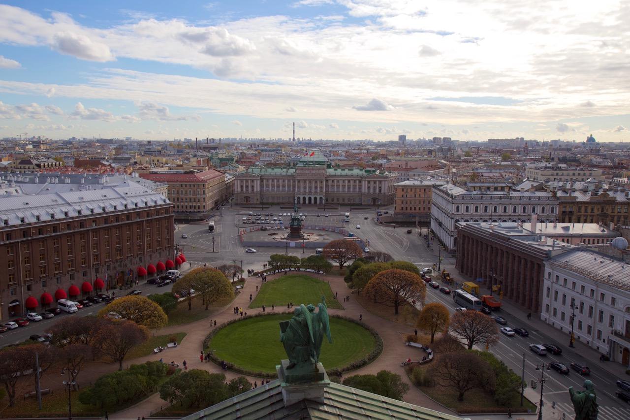 St Isaac's Square, Saint Petersburg