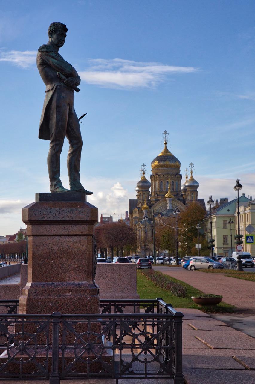 Ivan Kruzenshtern Statue, Saint Petersburg
