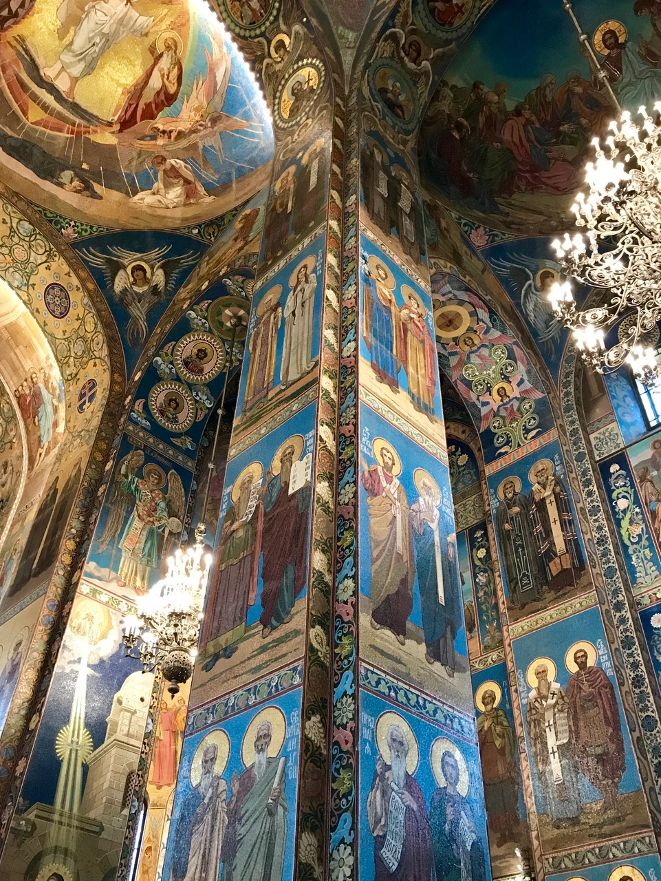 The Church of the Savior on Spilled Blood, Inside, Saint Petersburg