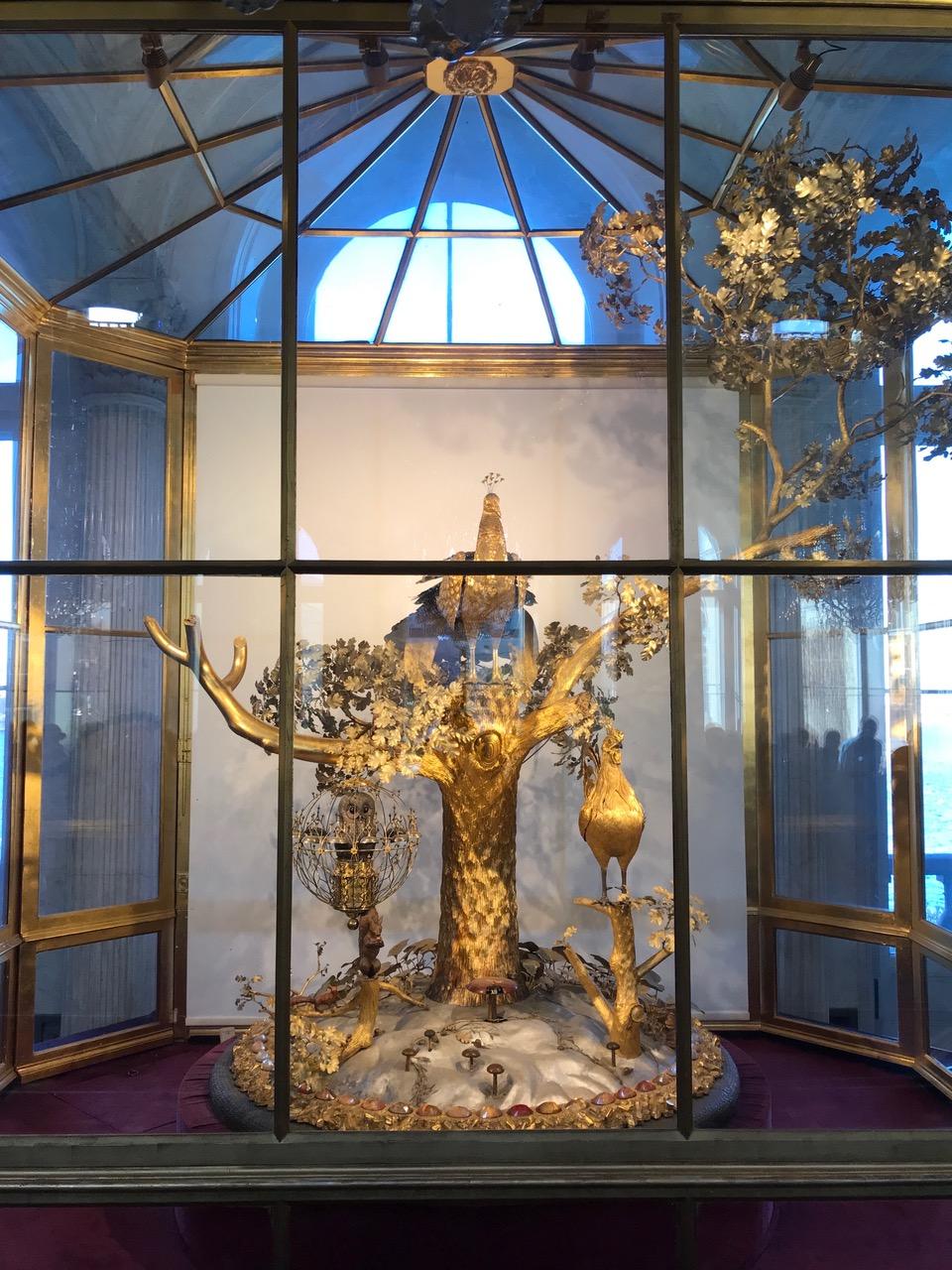 The Peacock Clock at the Hermitage Museum, Saint Petersburg
